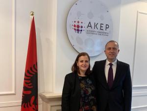 Mbi nënshkrimin e Memorandumit të Mirëkuptimit mes Inspektoratit Shtetëror të Mbikëqyrjes së Tregut dhe AKEP